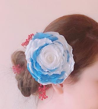 成人式の髪飾り